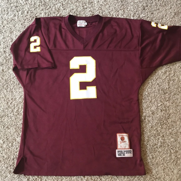 the best attitude 90f84 d9ec7 Deion Sanders FSU Jersey EUC